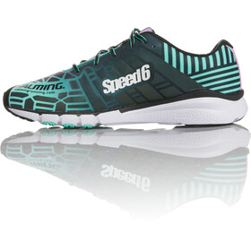Salming Speed 6 Running Shoes Women black/turquoise